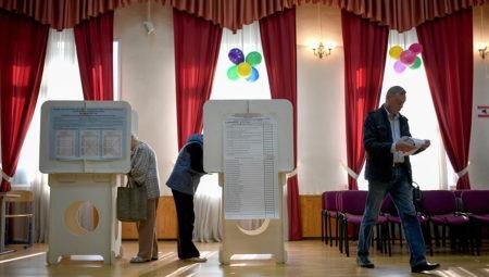 Единый день голосования в Москве Фото: Владимир Астапкович / РИА Новости