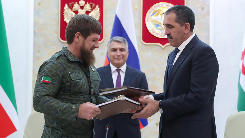 Рамзан Кадыров и Юнус-Бек Евкуров переделили границы Чечни и Ингушетии.