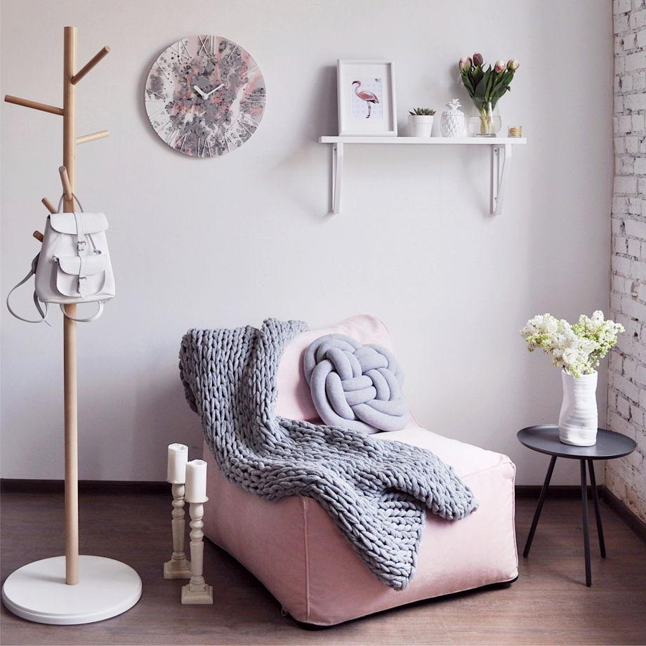 Бескаркасная мебель - залог уюта в доме.