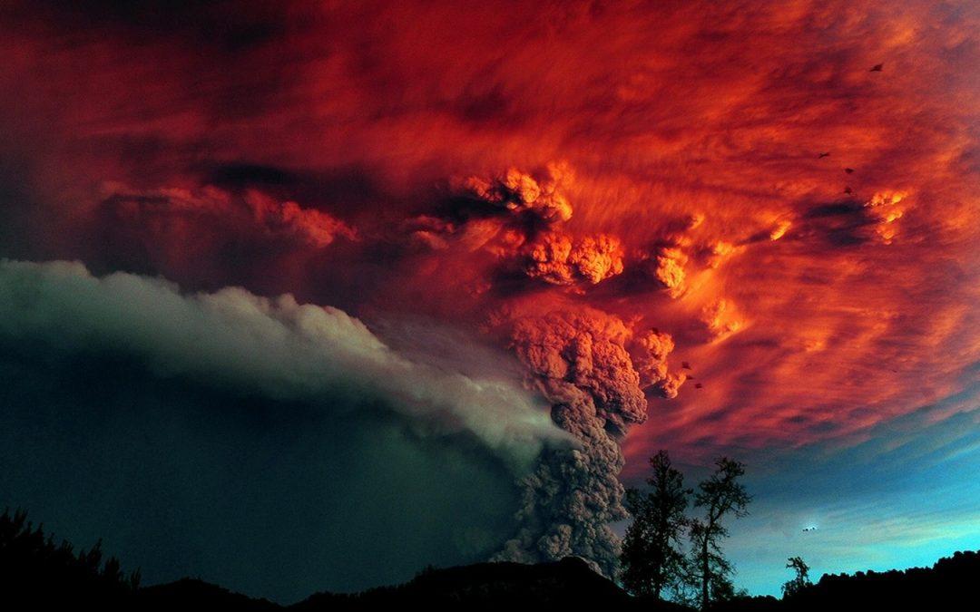 Image result for Извержение супервулкана