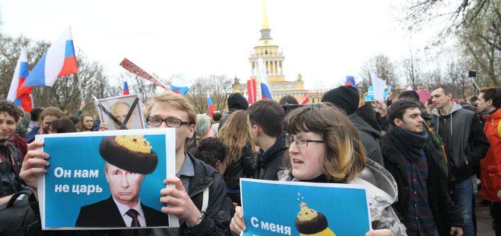 Координатора петербургского штаба Навального оштрафуют на 11 миллионов