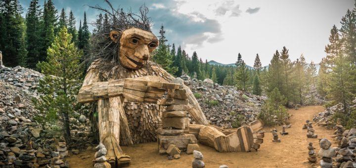 В США демонтировали скульптуру «Дружелюбный тролль»