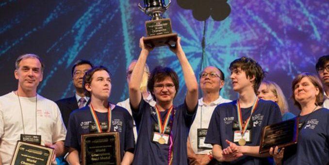 победители Олимпиады школьников
