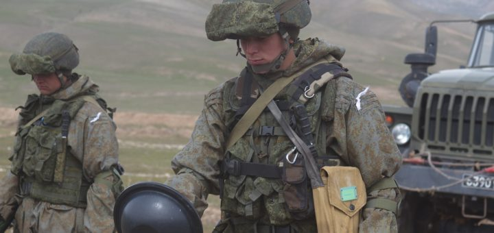 российские солдаты в таджикистане