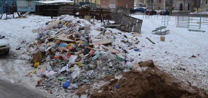 «Мусорная реформа» оставила россиян у гор бытовых отходов