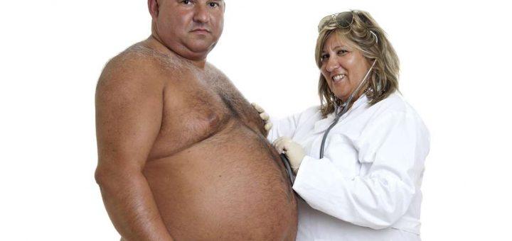 толстопузый мужик