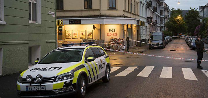 Напавший на женщину в Осло россиянин был признан невменяемым