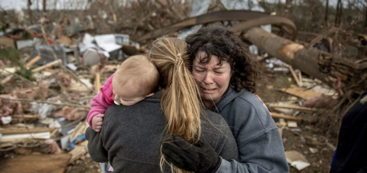 На США обрушился очередной торнадо, есть жертвы