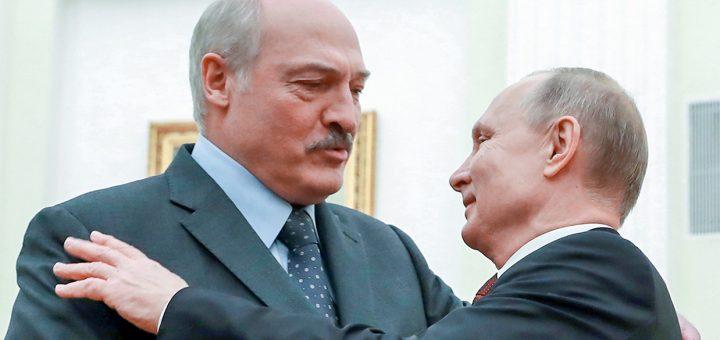 Путин и Лукашенко обсудили возможность введения общей валюты