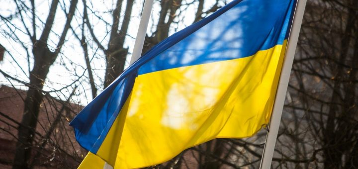 Над Донецком поднялся украинский флаг