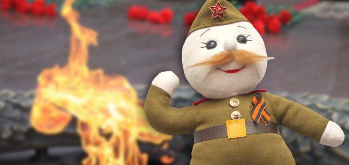 Мягкая игрушка «Ветеран» разгневала участников военных действий