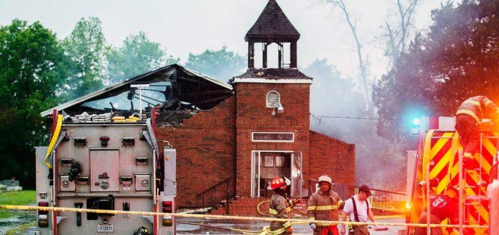 В США арестовали серийного поджигателя церквей
