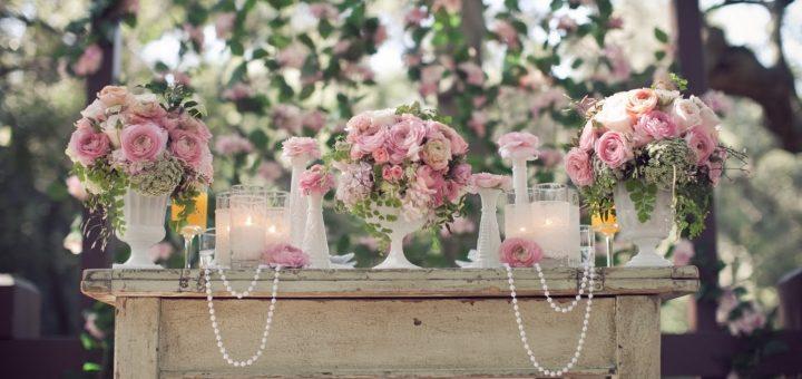 Преимущества готового оформления свадьбы (аренда свадебного декора).