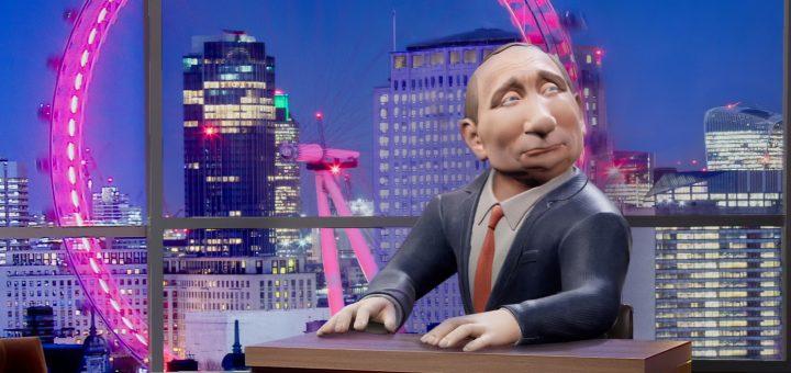 Канал BBC запустил ток-шоу «Сегодня ночью с Владимиром Путиным»