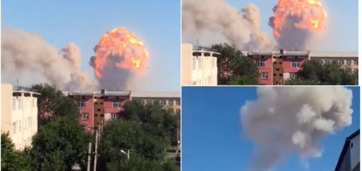 взрыв в казахстане