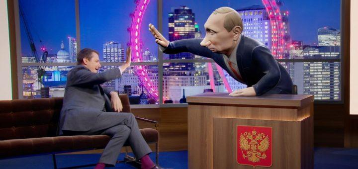 Британцев разочаровало телешоу с Путиным в роли ведущего