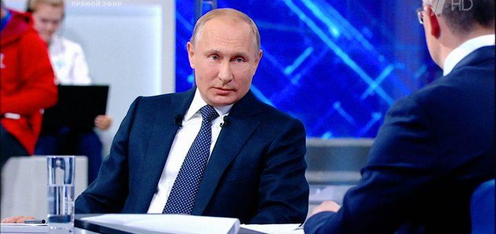 Песков объяснил потерю интереса к прямой линии с Путиным жаркой погодой