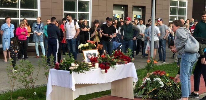 похороны Белянкина