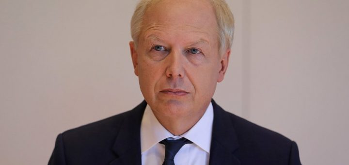 "ARCHIV - 12.09.2018, Nordrhein-Westfalen, Bonn: Tom Buhrow, WDR-Intendant, sieht beim sogenannten «Framing Manual» der ARD manches kritisch.(zu dpa ""WDR-Intendant Buhrow kritisiert «Framing Manual» der ARD"" vom 24.02.2019) Foto: Oliver Berg/dpa +++ dpa-Bildfunk +++"