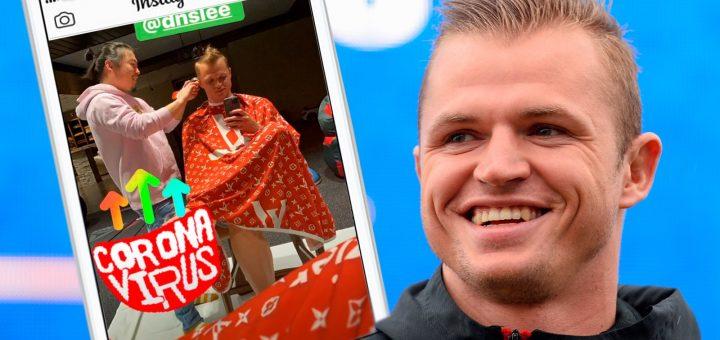 Футболист Дмитрий Тарасов назвал парикмахера-азиата «коронавирусом»