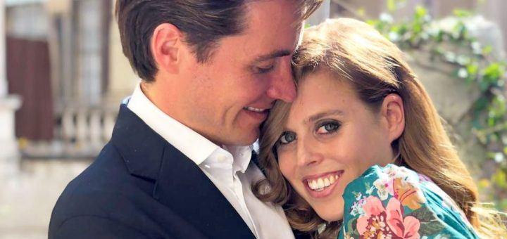 26/09/2019 Undated picture released by Buckingham Palace of Princess Beatrice and Mr Edoardo Mapelli Mozzi, whose engagement has been announced today. The picture was taken recently in Italy by Princess Beatrice s sister, Princess Eugenie. Photo Credit: ALPR/AdMedia 245479 2019-09-26 Royaume Uni PUBLICATIONxINxGERxAUTxONLY Copyright: xAdMediax STAR245479002